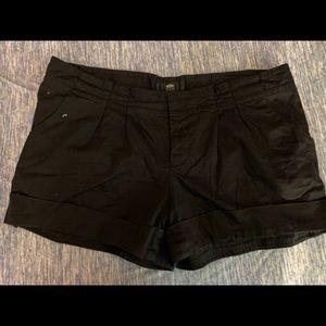 Size 14 Black Shorts Mossimo